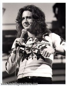 Deep Purple 1974 David Coverdale California Jam Original Concert Photo  - Backstage Auctions, Inc.