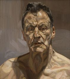 "Lucian Freud // ""Reflection (Self-Portrait)"" . Another legend in the world of figurative art, I was very fortunate to be able to check out the posthumous exhibit ""Lucian Freud Portraits"" at the. Lucian Freud Portraits, Lucian Freud Paintings, Famous Self Portraits, L'art Du Portrait, Portrait Paintings, Alberto Giacometti, Royal Academy Of Arts, Painting People, National Portrait Gallery"
