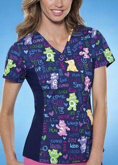 nurse patterned uniform - Google Search