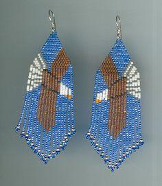Eagles Beaded Earrings