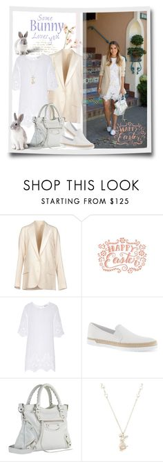 """""""Easter & Bunny"""" by junglover ❤ liked on Polyvore featuring Acne Studios, Miguelina, Tod's, Balenciaga and Di Modolo"""