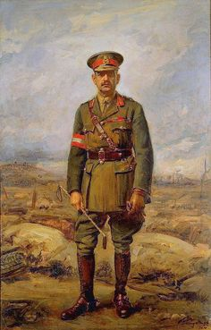 Australian General Sir John Monash probably the best general of WWI. and responsible for the victories of 1918.