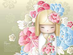 "✿ Kimmidoll Illustration ~ ""Ryoko"" 'Elegant' ✿"