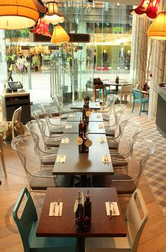 Zizzi (London, UK) | B3 Designers | Restaurant and Bar Design Awards