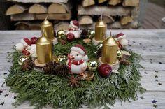Wianek adwentowy. Eko-Styl, Mój pomysł, moja praca, moje zdjęcie. Adventkranz. Eco-Stil. Mein Job, meine Idee; Новогодний венок. Адвент-венок. Эко-стиль. Моя работа, моя идея, моё фото. Christmas wreath. Eco-style. My job, my idea