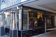 Twister Shawarma & Vandpibe Café, Jernbanegade 16, 5000 Odense C, Tlf. 66 13 17 22 http://www.twister-odense.dk/ Mon-Thu: 11:00-21:00, Fri-Sat: 11:00-00:00, Sun: 15:00-21:00