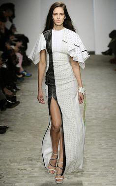 @roressclothes clothing ideas #women fashion white long dress Vionnet Haute Couture Spring 2014