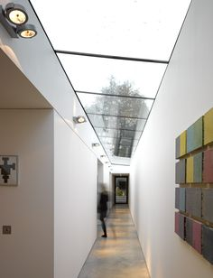 Sunsquare is the market leading skylights & rooflight company. We are the only architectural rooflight company in the UK with the BSI kitemark accreditation. Shed Roof, House Roof, Fibreglass Roof, Long House, Modern Roofing, Roof Architecture, Roof Light, Roof Repair, Patio Roof
