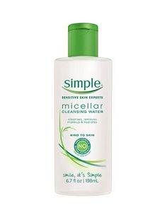 Simple Micellar Cleansing Water | allure.com