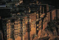 India, Rajasthan, Jodhpur, Meherangarh Fort
