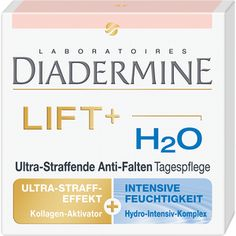 DIADERMINE LIFT+ H2O Anti-Falten-Tagespflege Anti Wrinkle, Anti Aging, Beauty Makeup, Face, German, Cream, Night, Diy, Collagen