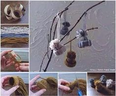 Here is an another DIY idea to make Christmas decorations — DIY Christmas ornaments using yarn. The post The Perfect DIY Yarn Star Christmas Ornaments appeared first on The Perfect DIY. Noel Christmas, Diy Christmas Ornaments, How To Make Ornaments, Christmas Decorations, Easy Crafts For Kids, Diy Crafts, Cute Winter Hats, Christmas Craft Projects, Toilet Paper Roll Crafts