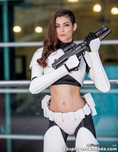 Star Wars Cosplay 005 hot stormtrooper - Comics And Memes Star Wars Mädchen, Star Wars Girls, Costume Manga, Female Stormtrooper, Meninas Star Wars, Urbane Mode, Military Girl, Best Cosplay, Awesome Cosplay