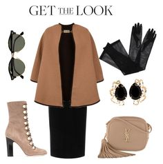 """""""Untitled #76"""" by ioana-lup on Polyvore featuring Emilio De La Morena, Burberry, Jimmy Choo, Yves Saint Laurent, Gucci, Bounkit and Ray-Ban"""