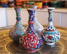 Turkish Ceramic vases by Grand Bazaar Shopping