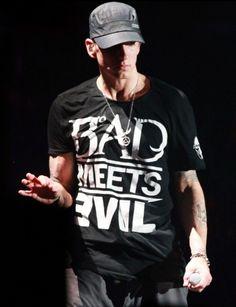Women Men's T-shirt Bad Meets Evil Eminem Shady Rap Short Sleeve T Tee Shirts Best Rapper Ever, Best Rapper Alive, Eminem Rap, Eminem Quotes, Eminem Music, The Eminem Show, The Real Slim Shady, Eminem Slim Shady, Rap God