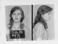 Joan Trumpauer Mulholland , a Civil Rights worker at 19 years old in 1961. Joan had participated in nearly three dozen protests and sit-ins and became infamous for her participation in the Freedom Rides.