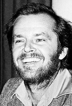 Jack Nicholson in Stockholm, Sweden promoting Chinatown, 1974.