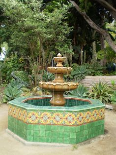 The Mission Fountain is a great place to come, relax, and collect your thoughts on a hot summer day in San Diego!