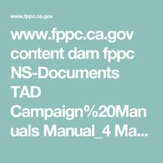 www.fppc.ca.gov content dam fppc NS-Documents TAD Campaign%20Manuals Manual_4 Manual_4_Ch_9_Ad_Disclaimers.pdf