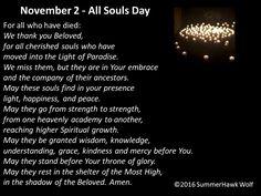 All Souls Day November 2