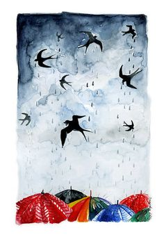 jak powstaje deszcz? | digart | digart.pl
