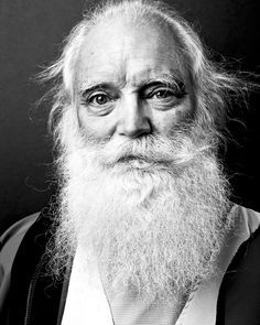 "A Book Of Beards: Must-see black and white ""beard portraits"" taken by Justin James Muir in support of the fight against cancer. Old Man With Beard, Justin James, Old Faces, Beard No Mustache, Interesting Faces, Beard Styles, Facial Hair, Bearded Men, Portrait Photography"