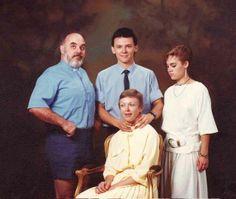 Este retrato familiar increíblemente siniestro. | 29 de los momentos más siniestros de la historia
