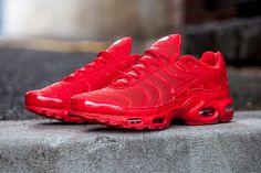 Nike Air Max Plus (Lava Red) - Sneaker Freaker