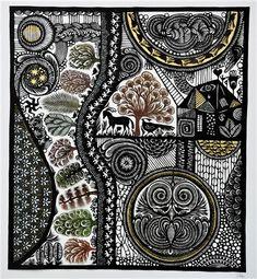 Swiss papercut artist, Ueli Hofer