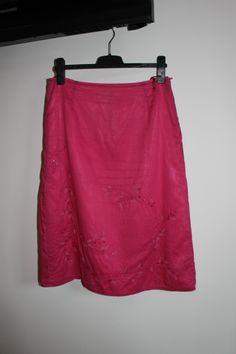 Rok, kleur roze tot knielengte - Esprit - maat 40