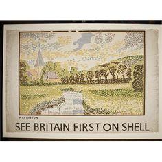 Vanessa Bell railway poster