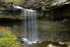 Clifty Falls in Indiana