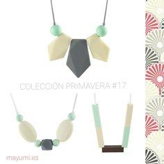 Collares de lactancia Mayumi.es  Primavera 2017