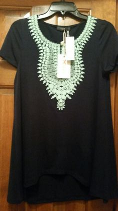 #stitchfix @stitchfix stitch fix https://www.stitchfix.com/referral/3590654 Stitch Fix #2 - May 2015 - THML Kahlo Short Sleeve Knit Top (Kept). Love this!
