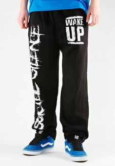 Suicide Silence - Wake Up - Sweat Pants.  Would be great to wear at home