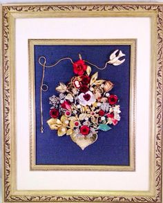 A personal favorite from my Etsy shop https://www.etsy.com/listing/254353514/christmas-tree-vintage-jewelry-art-large