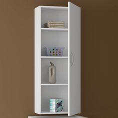 Os armários ajudam a organizar e separar tudo na sua lavanderia. #Prod103734