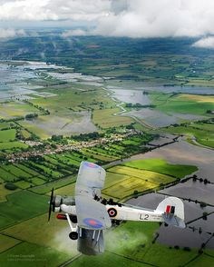 A Swordfish aircraft with the Royal Navy Historic Flight. >> Go on airplane and helicopter trips