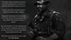 """Captain Price's """"The Healthy Human Mind"""" is one of the greatest monologues in video game history Video Game Quotes, Video Games, Call Of Duty Warfare, Call Of Duty World, Animation Reference, Human Mind, Monologues, Badass Quotes, Modern Warfare"""
