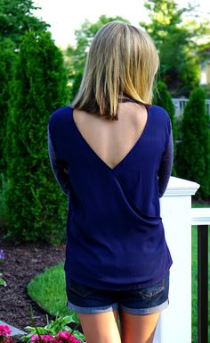 This Loveappella Topeka Crossover Back Knit Top seems like the perfect top for cool summer nights. Would love to receive.