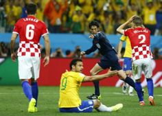 FIFA World Cup 2014 referee chief defends contentious penalty in World Cup opener