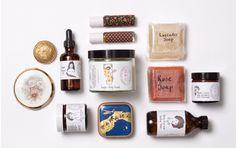 Cosmetics packaging Cosmetic Packaging, Beauty Packaging, Brand Packaging, Packaging Design, Branding Design, Simple Packaging, Vintage Packaging, Pretty Packaging, Things Organized Neatly