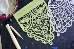 Beautiful papel picado #lifeinstyle #greenwithenvy