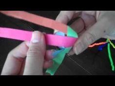 How to Weave a Paper Ball Ornament 2