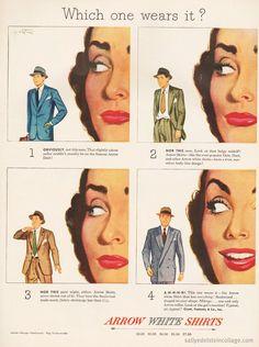 Arrow Shirt Ad 1948