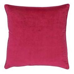 Choose from our enormous range of single cushions to pull together a set to suit your space and your style. Velvet Cushions, Outdoor Cushions, Your Space, Magenta, Aqua, Lounge, Throw Pillows, Bed, Cover