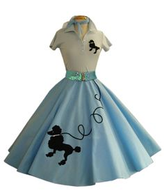 sew poodle skirt no pattern | ... much cloth i will need for this skirt and please share any pattern