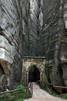 "travelfiend: "" Adrspach-Teplice Rocks Park Entry, Czech Republic (edited by Joilieder). "" The Adrspach-Teplice rocks are an unusual set of sandstone formations covering 17 km in northeastern Bohemia,. Places Around The World, Oh The Places You'll Go, Places To Travel, Around The Worlds, Hidden Places, Cool Places To Visit, Travel Destinations, Travel Tips, Beautiful World"