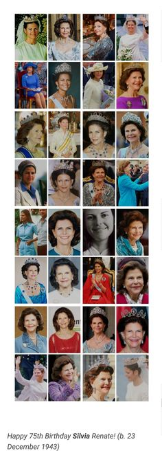 The Most Beautiful Queen Queen Silvia, Swedish Royals, Royal Style, Scandinavian, Most Beautiful, Royalty, Head Bands, Royal Families, Princess